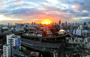 Sunrise, Bangkok