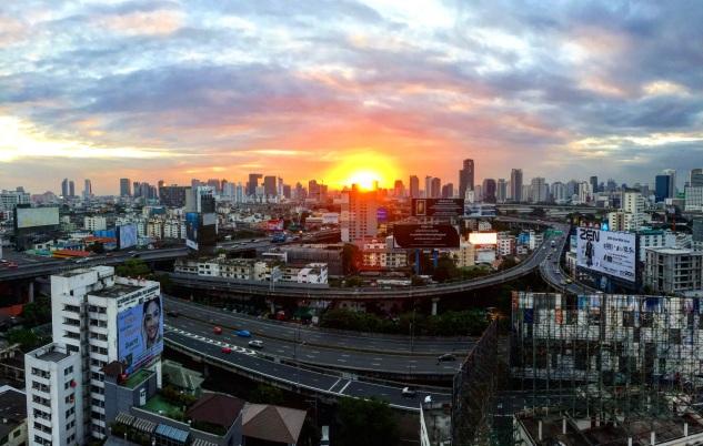 Sunrise, Bangkok